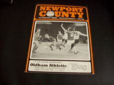 Newport County v Oldham Athletic, 1981/82 [LC]